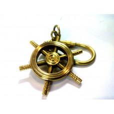 Брелок для ключей штурвал корабля