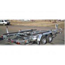 Лодочный двухосный прицеп для перевозки лодок до 7 метров 75PL2219 (под заказ)
