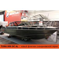 Алюминиевый катер TUNA 600 DC AL