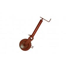 Опорное колесо AL-KO 1500 кг полуавтоматическое
