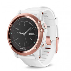 f?nix® 3, Sapphire, Rose Gold tone with White Band