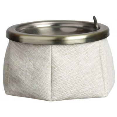 WINDPROOF Cloth пепельница белая, замша
