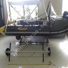 Тележка лодки ТЕХНОПАРУС ТЛ3