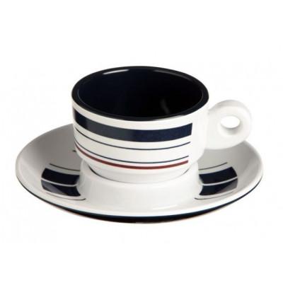 MONACO кофейная чашка с блюдцем, набор 6 шт.