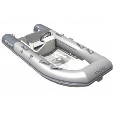 Алюминиевая лодка RIB Spirit 350С с рулевой консолью